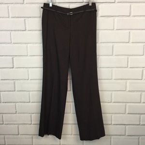 Ann Taylor LOFT Career Trouser Pants With Belt